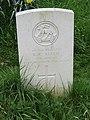 2018-04-24 CWGC gravestone, Private R R Allen, Parish church of Saint Margaret, Thorpe Market.JPG