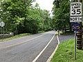 2018-05-30 12 41 57 View north along Somerset County Route 525 (Mendham Road) at Somerset County Route 659 (Claremont Road) and Olcott Lane in Bernardsville, Somerset County, New Jersey.jpg