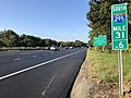 2018-10-02 08 45 34 View south along Interstate 295 (Camden Freeway) just south of Exit 31 in Tavistock, Camden County, New Jersey.jpg