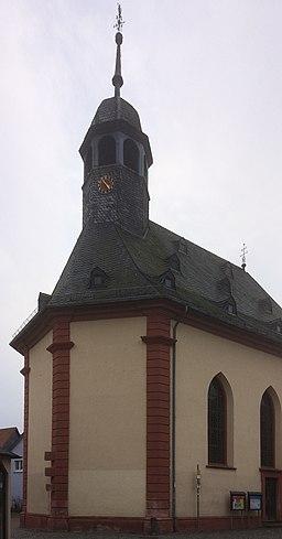20180217 Oberursel denkmalgeschuetzte Gebaeude Altstadt Hospitalkirche 2