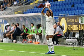 20180912 UEFA Women's Champions League 2019 SKN - PSG Ashley Lawrence 850 5023.jpg