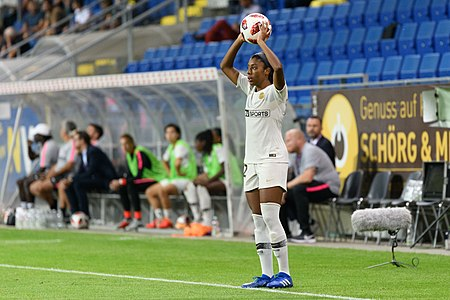 20180912 UEFA Women's Champions League 2019 SKN - PSG Ashley Lawrence 850 5023.jpg