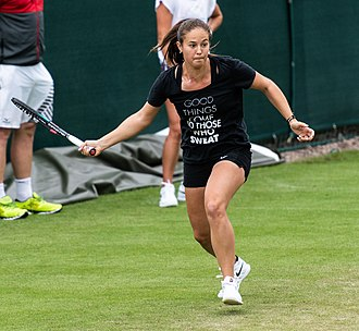 Daria Kasatkina - Kasatkina at the 2018 Birmingham Classic