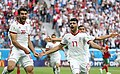 2018 FIFA World Cup Group B march IRN-MAR 14.jpg
