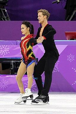 2018 Winter Olympics - Madison Chock and Evan Bates - 05