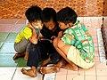 20200208 151600 Children at Shwethalyaung Buddha Temple Myanmar anagoria.jpg