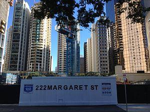 Brisbane Skytower - Image: 222 Margaret Street, Brisbane 05.2013 209