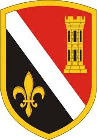 225th Engineer Brigade (United States) - 225th Engineer Brigade shoulder sleeve insignia