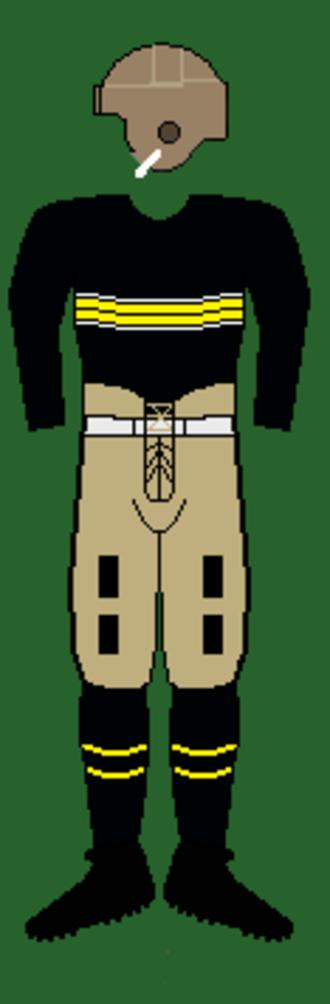 1924 Army Cadets football team - Image: 24armyuniform