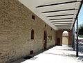 251 Casa del Canal (Mollerussa), porxo.JPG