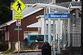 2nd Avenue bus stop in Watervliet, New York.jpg