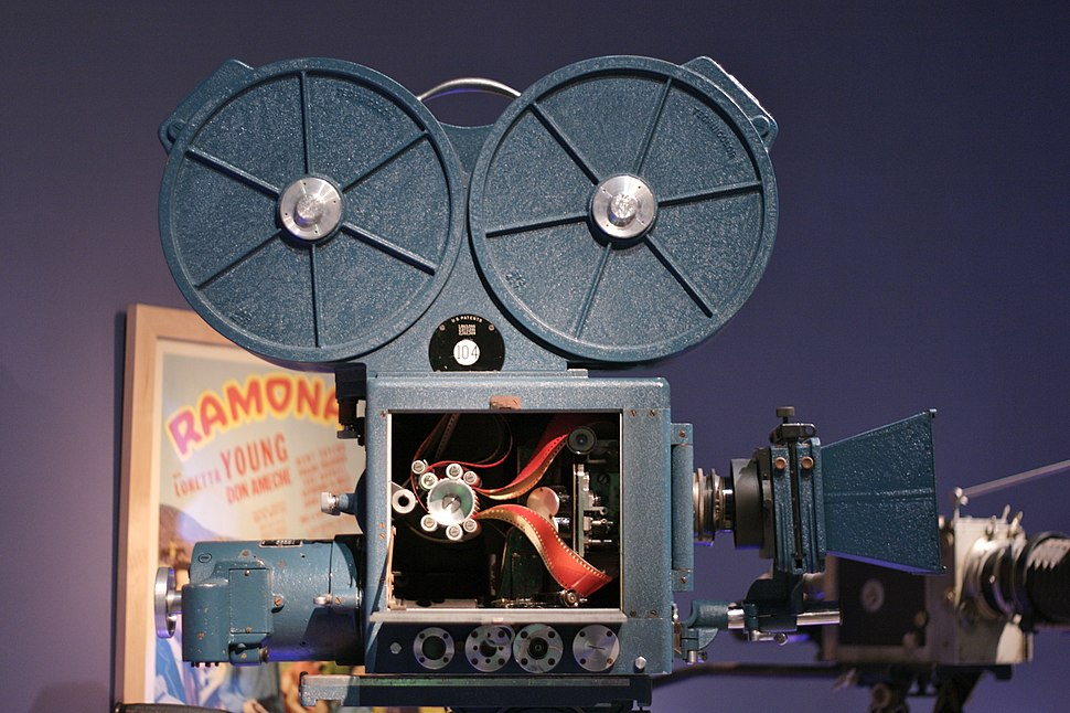 3-strip Technicolor camera