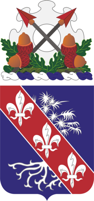 327th Infantry Regiment (United States) - 327th Infantry Regiment coat of arms