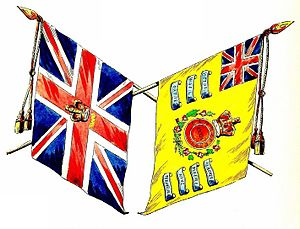 34th (Cumberland) Regiment of Foot - Colours of the 34th (Cumberland) Regiment of Foot