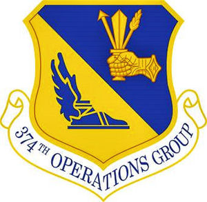 374th Operations Group - Emblem of the 374th Operations Group