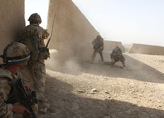 3 Para in combat in Helmand Province Afghanistan, photo via Open Government Licence v1.0