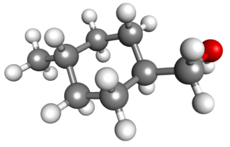 4-Methylcyclohexanemethanol - Image: 4 methylcyclohexylmeth anol
