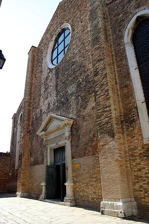 San Pietro Martire, Murano - Façade of San Pietro Martire.