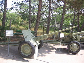 45 mm anti-tank gun M1942 (M-42) Museum on Sapun Mountain Sevastopol 1.jpg