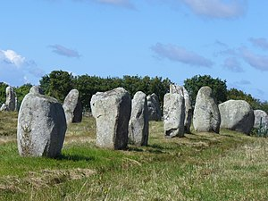 Brittany - The Carnac stones.