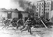 49th Army troops storming Mogilev June 1944