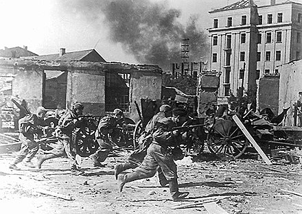Troops of the 49th Army during the capture of Mogilev on 28 June 1944 49th Army troops storming Mogilev June 1944.jpg