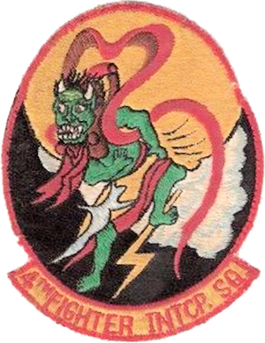4th Fighter Squadron - 4th Fighter-Interceptor Squadron - Emblem