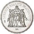 50 French francs Hercule de Dupré 1978 F427-6 obverse.jpg
