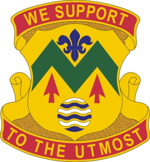 528th Sustainment Brigade (United States) - Image: 528 Spt Bn DUI