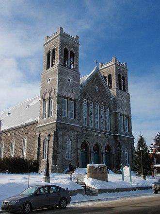 Sainte-Agathe-des-Monts - The Church