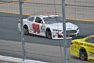 Timmy Hill - Hill racing in Cup at New Hampshire Motor Speedway in 2015