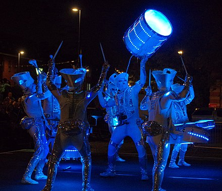 Light Night: One of the UK's largest annual arts and light festivals 7.10.16 Light Night Leeds 088 (30096460721).jpg