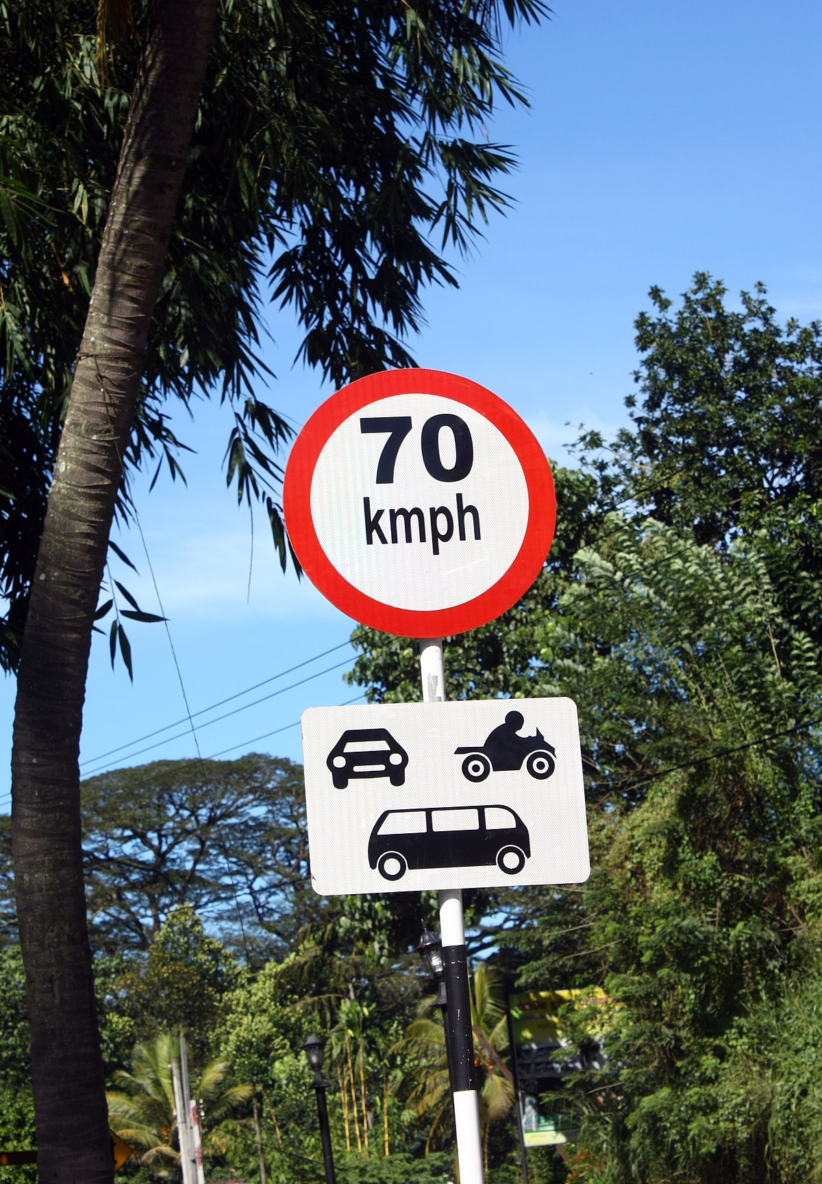 Road Signs In Sri Lanka Wikipedia