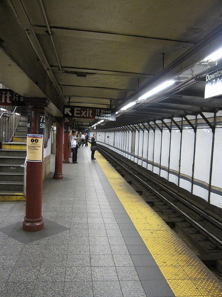 72nd Street (IRT Broadway�13Seventh Avenue Line)