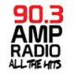 CKMP-FM - Previous Amp Radio 90.3 logo