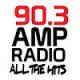 CKMP-FM - Previous Amp Radio 90.3 logo