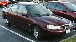 A Ford Contour, the Mondeo's American counterpart