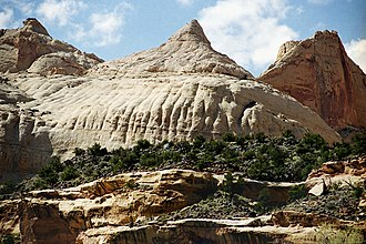Capitol Reef National Park - Capitol Dome formation