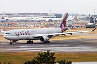 A7-AEA - A333 - Qatar Airways