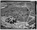 AERIAL VIEW, LOOKING SOUTHWEST - Woodlands Cemetery, 4000 Woodlands Avenue, Philadelphia, Philadelphia County, PA HALS PA-5-63.tif