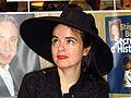 AMELIE NOTHOMB à la foire du livre de Bruxelles.jpg