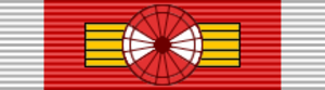 Orders, decorations, and medals of Argentina - Image: ARG Order of May Grand Cross BAR