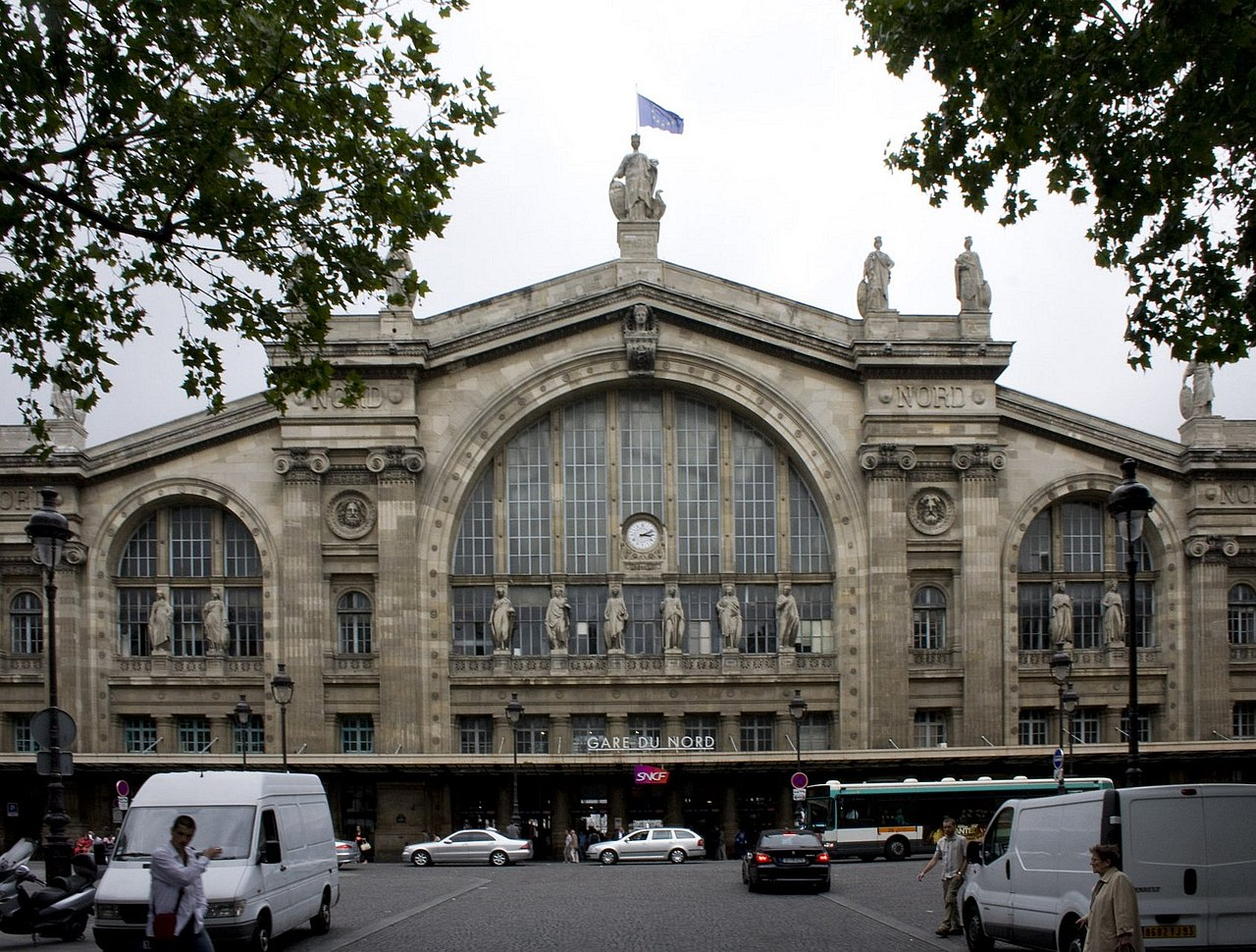 Paris 39 s gare du nord to get major transformation travelgumbo for Gare du nord paris
