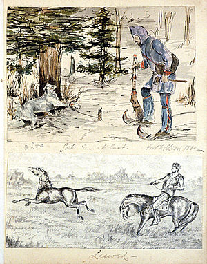 Trapping - Sketches of life in the Hudson's Bay Company territory, 1880