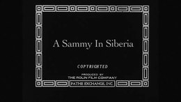 File:A Sammy in Siberia (1919).webm