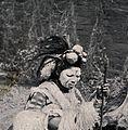 A Zulu medicine man or shaman. Halftone. Wellcome V0015951.jpg