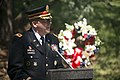 A ceremony honoring Hmong and Lao combat veterans at the memorial tree and plaque in Arlington National Cemetery (17071133203).jpg