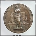 A uniface medal of the Ancient Greek and Egyptian Monuments of the Louvre MET DP100565.jpg