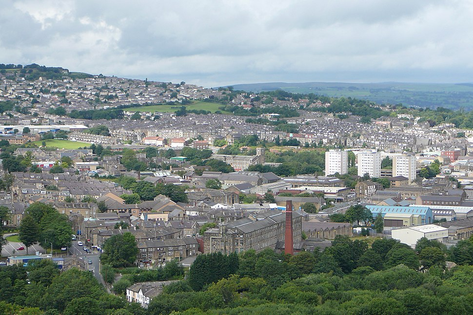 A view over Keighley (31st July 2010)