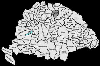 Abaúj-Torna County - Image: Abauj torna
